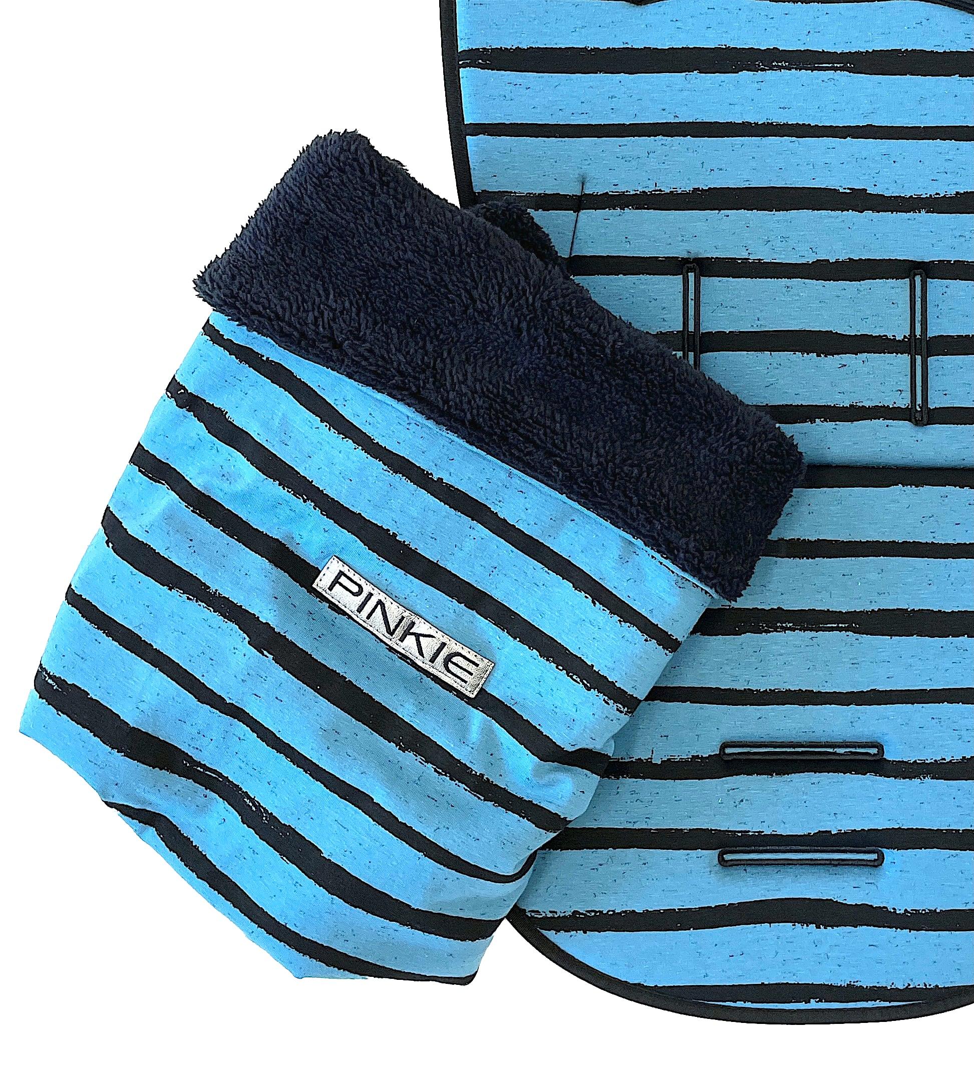 kliknutít zobrazíte maximální velikost obrázku Zubindbare Decke  Pinkie Stripe Blue