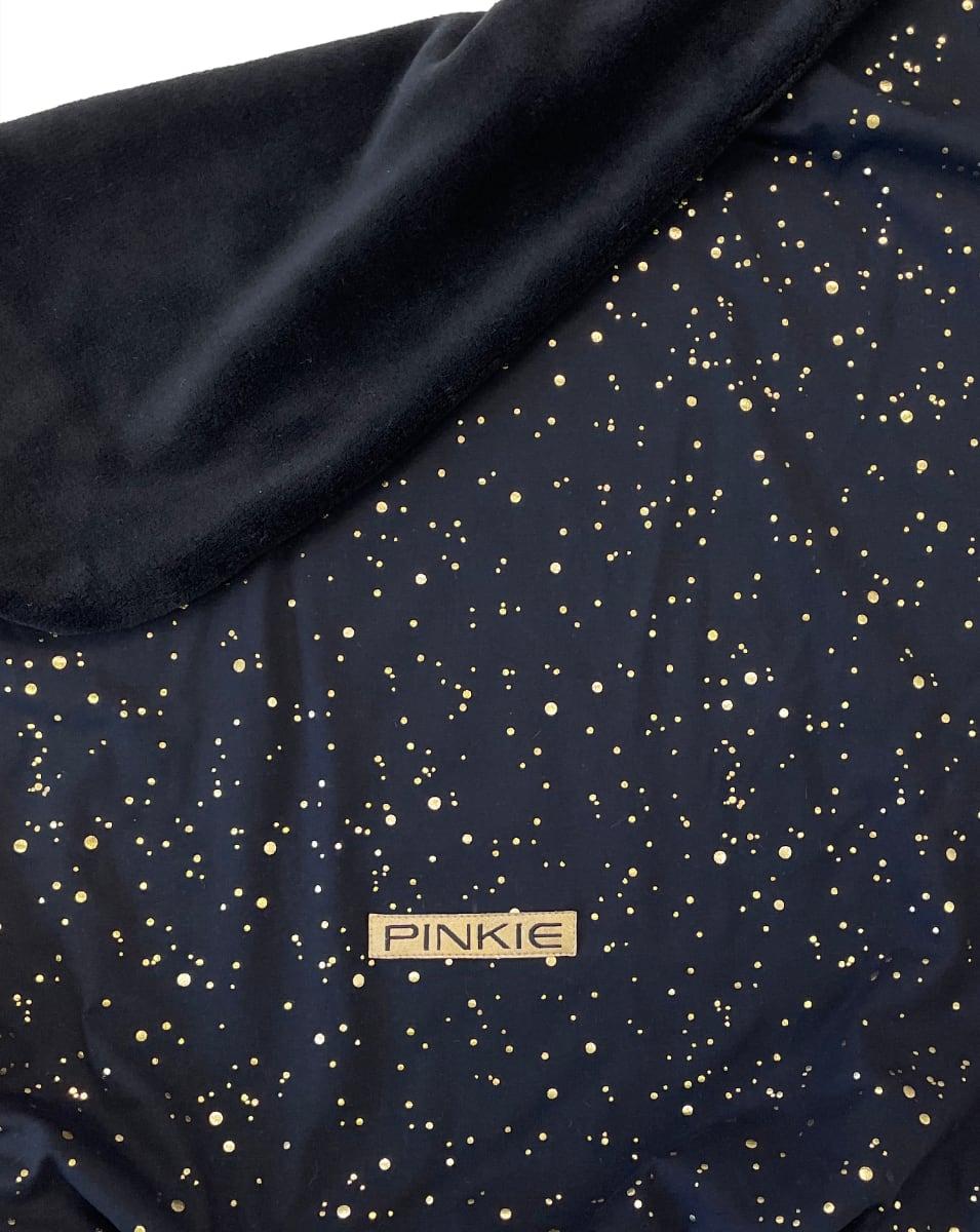 kliknutít zobrazíte maximální velikost obrázku Zubindbare Decke  Shine Gold Black