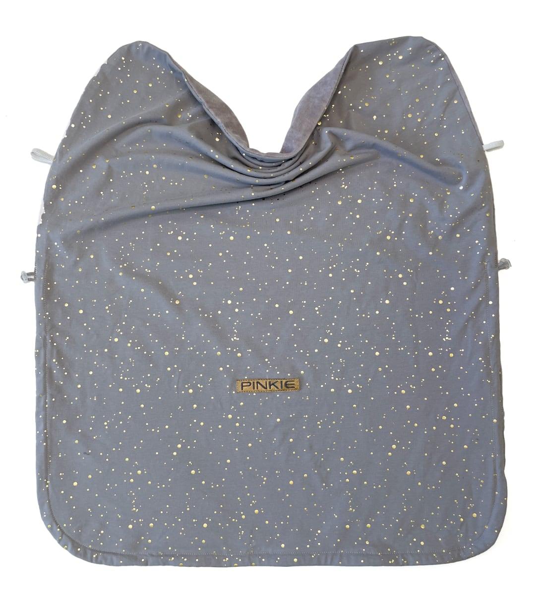kliknutít zobrazíte maximální velikost obrázku Zubindbare Decke  Shine Gold Grey