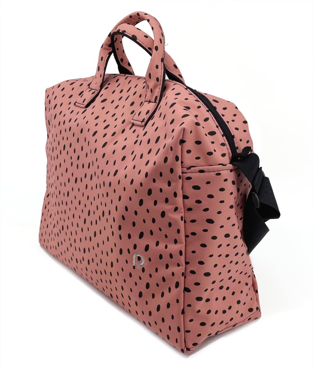 kliknutít zobrazíte maximální velikost obrázku Wickeltasche Softshell Dots Pink M