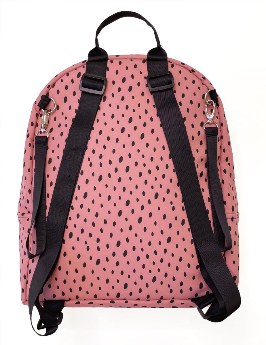 kliknutít zobrazíte maximální velikost obrázku Wickelrucksack Bugee Softshell Dots Pink