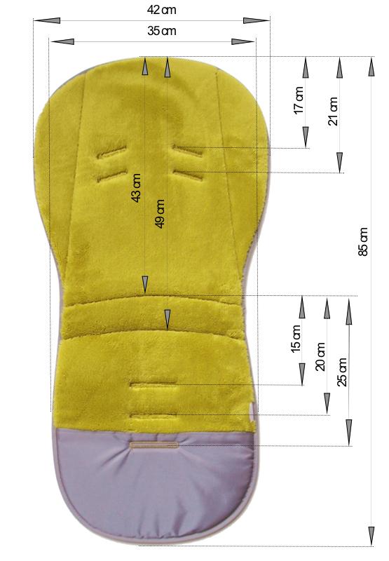 kliknutít zobrazíte maximální velikost obrázku Verlängerte Sommer Sitzeinlage Bamboo Grey