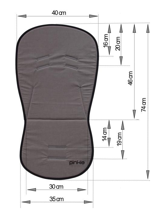 kliknutít zobrazíte maximální velikost obrázku Sitzeinlage Bugee Soft Black BIO