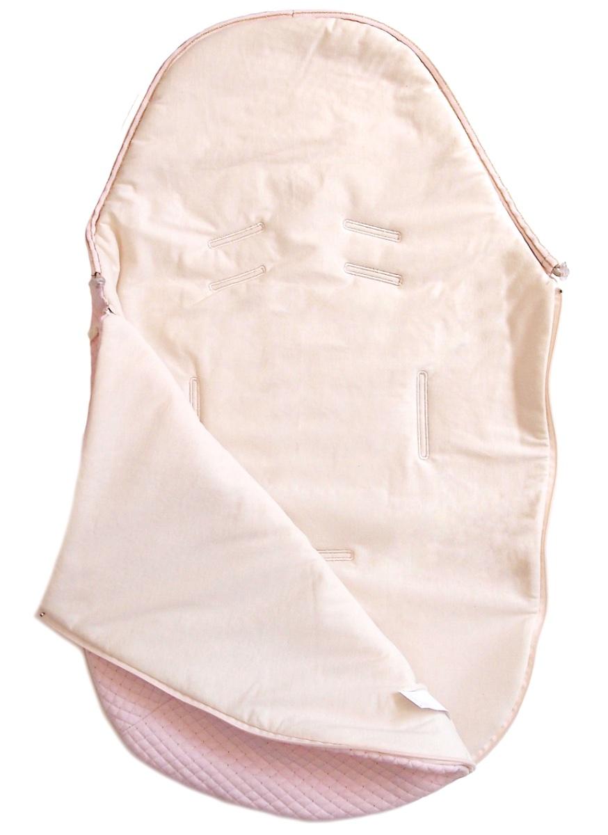 kliknutít zobrazíte maximální velikost obrázku Dünner Fußsack  Diamond Light Pink 0-12 Monate II.